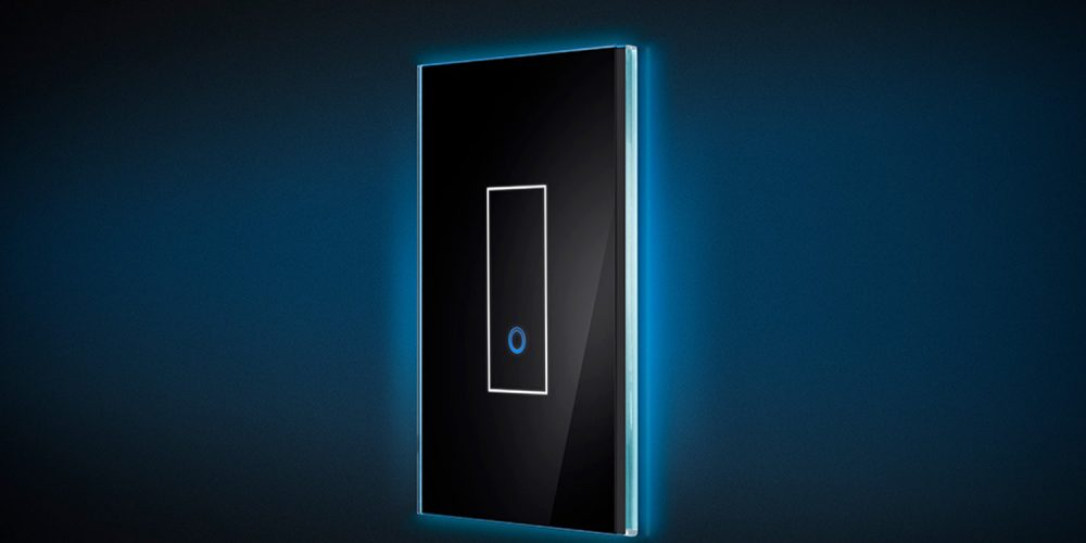 Smart Light Switch >> Smart Light Switch Features Italian Design Controlled Via Wi Fi And