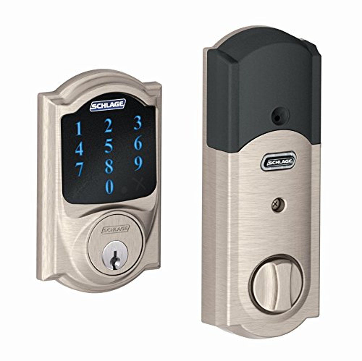 Schlage Z Wave Connect Camelot Touchscreen Deadbolt With