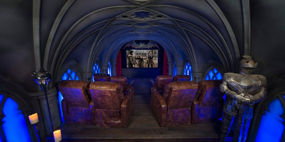 Game Of Thrones Home Theater Combines Medieval Design With Powerful