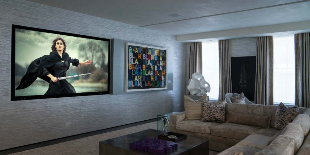 Techorating Designing A Hidden Home Theater Electronic House