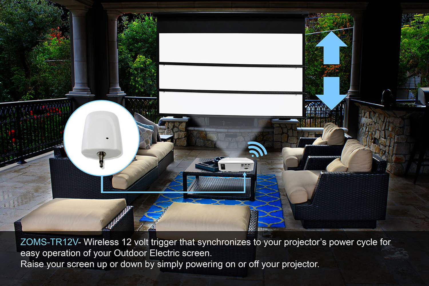 How to Sync Your Projector and Screen Without Any Wires - Electronic House