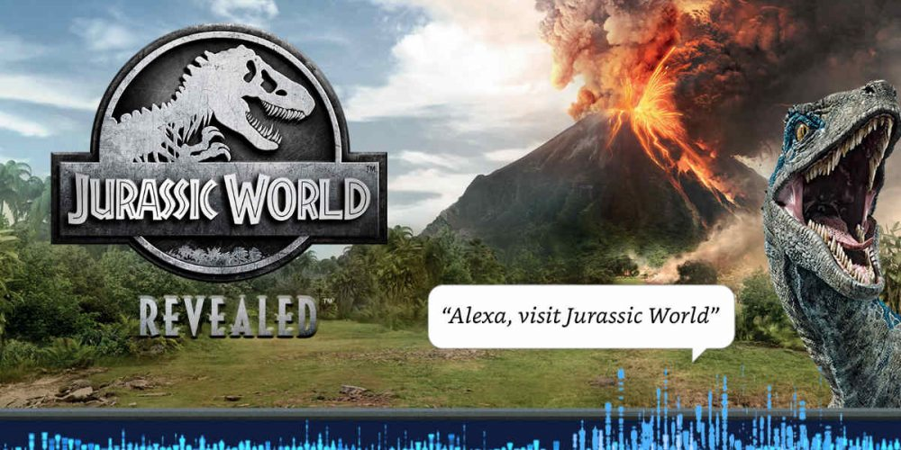 Amazon Alexa, Alexa, Jurassic World, Jurassic Park