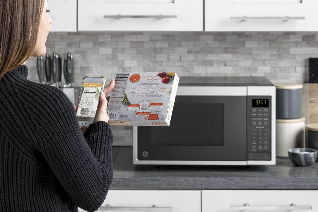 New GE Appliances Microwave Responds to Voice Commands - Electronic House