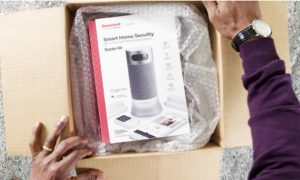 Honeywell DIY Security System Controlled by Amazon Alexa