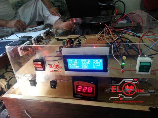 Arduino Based Mppt Solar Charge Controller Electronics