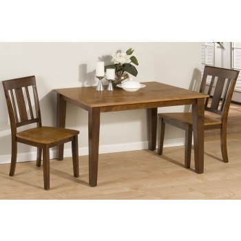 875 Cafe Table with 2 Stools Tile Top