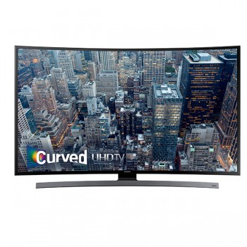 55 in 4K UHD Curved Smart TV