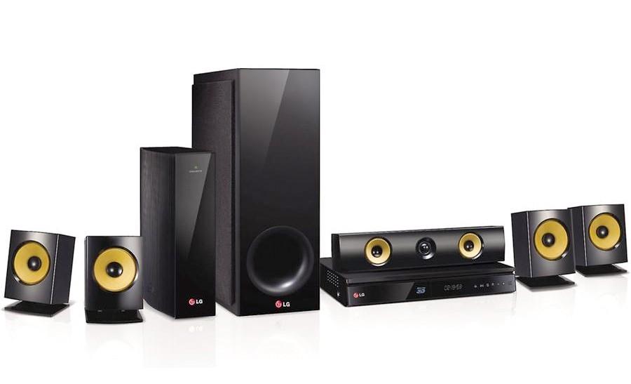 LG Electronics BH6830SW 1000 Watt 3D Blu-ray Home Theater System ...
