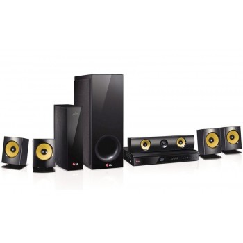 LG Electronics BH6830SW 1000 Watt 3D Blu-ray Home Theater System with Wireless Rear Speakers