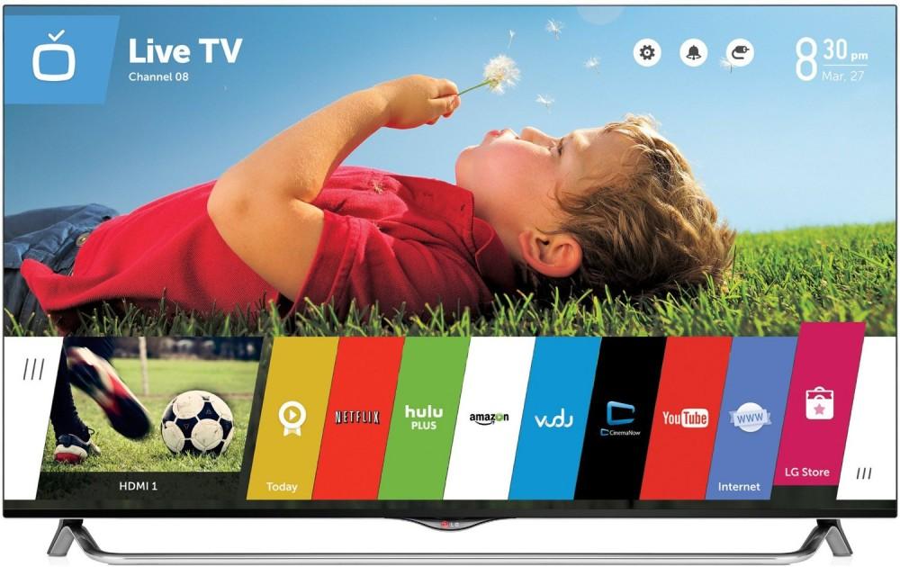 LG Electronics  49-Inch 4K Ultra HD 120Hz 3D Smart LED TV