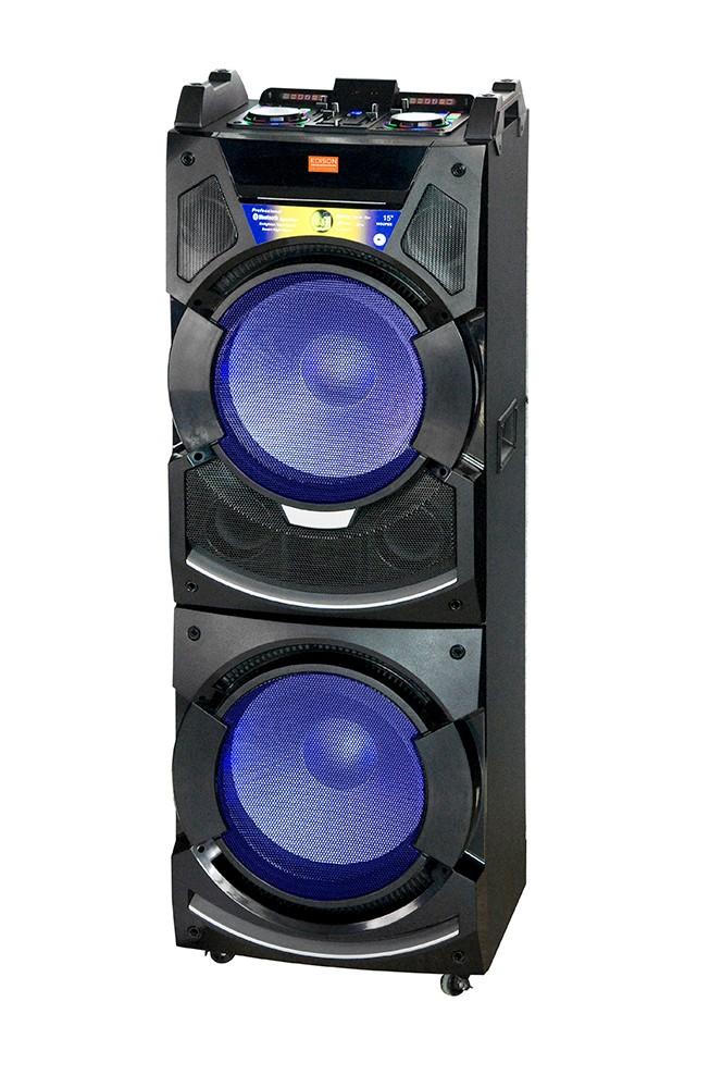 edison professional party system 350 bluetooth wireless speaker system partysystem350. Black Bedroom Furniture Sets. Home Design Ideas