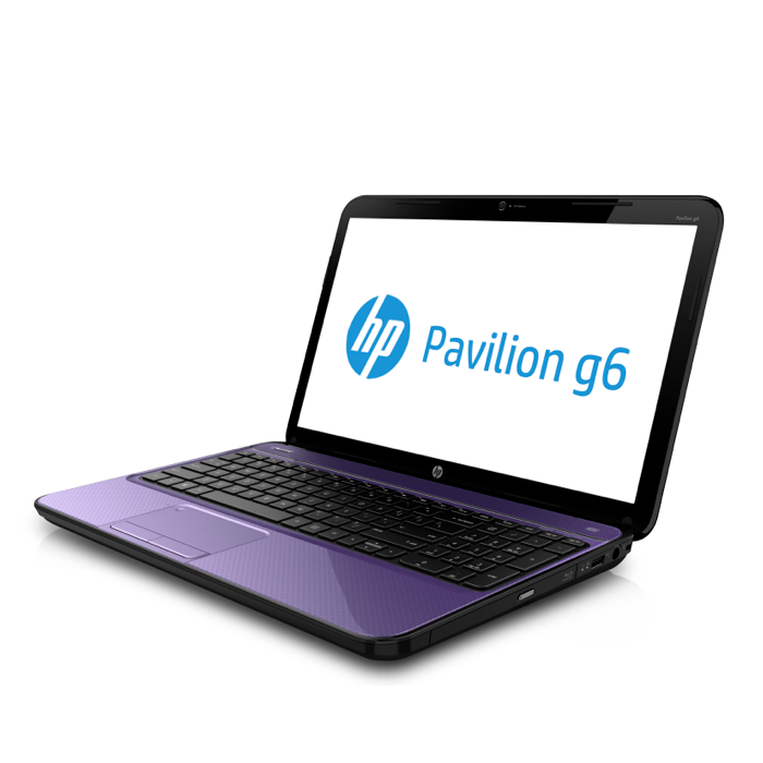 HP Pavilion G6 Bright Purple
