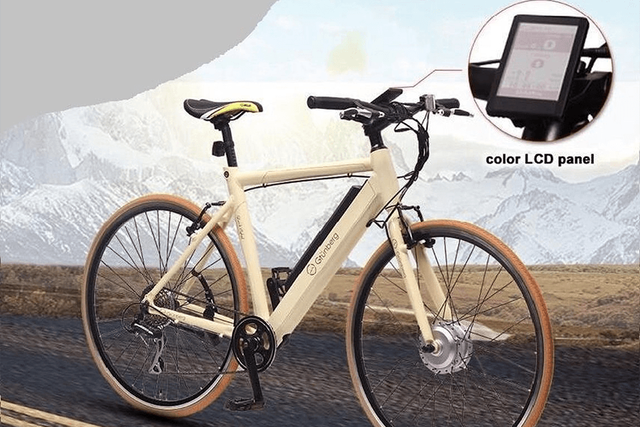 Elektrische sportieve fiets