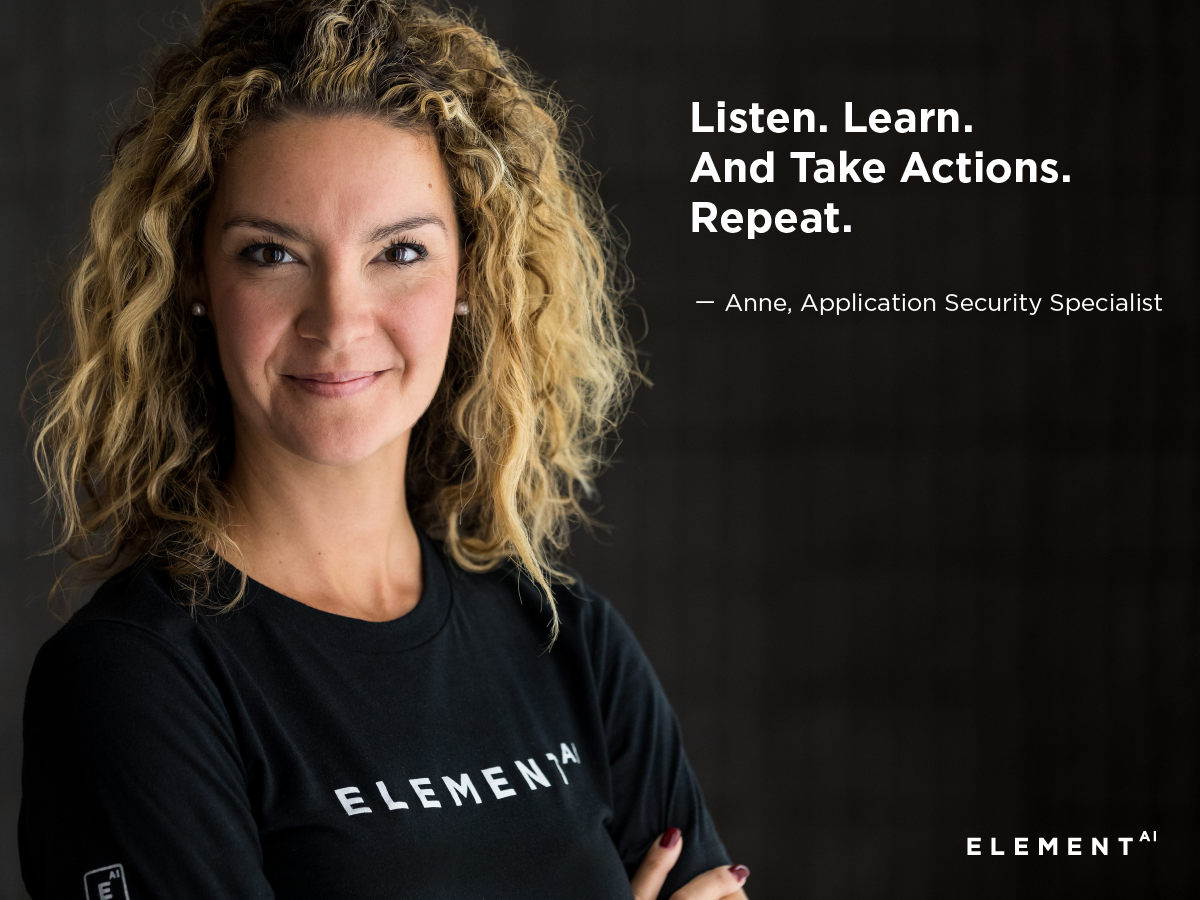 Anne, Application Security Specialist