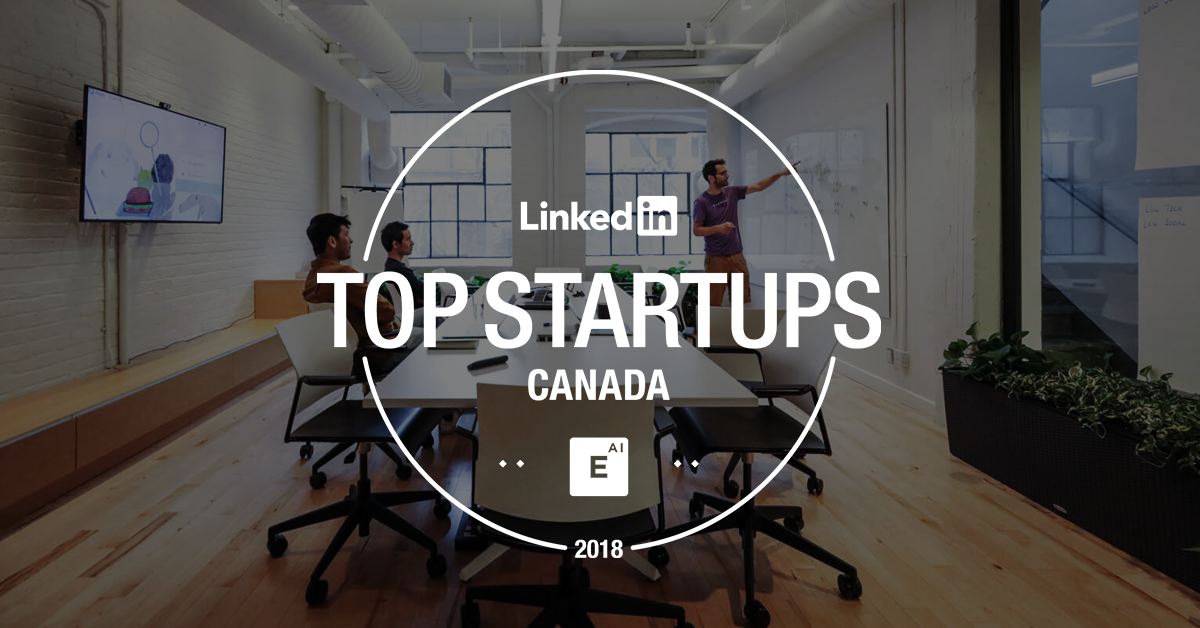 Element AI nommée a la liste des 2018 LinkedIn Top Startups
