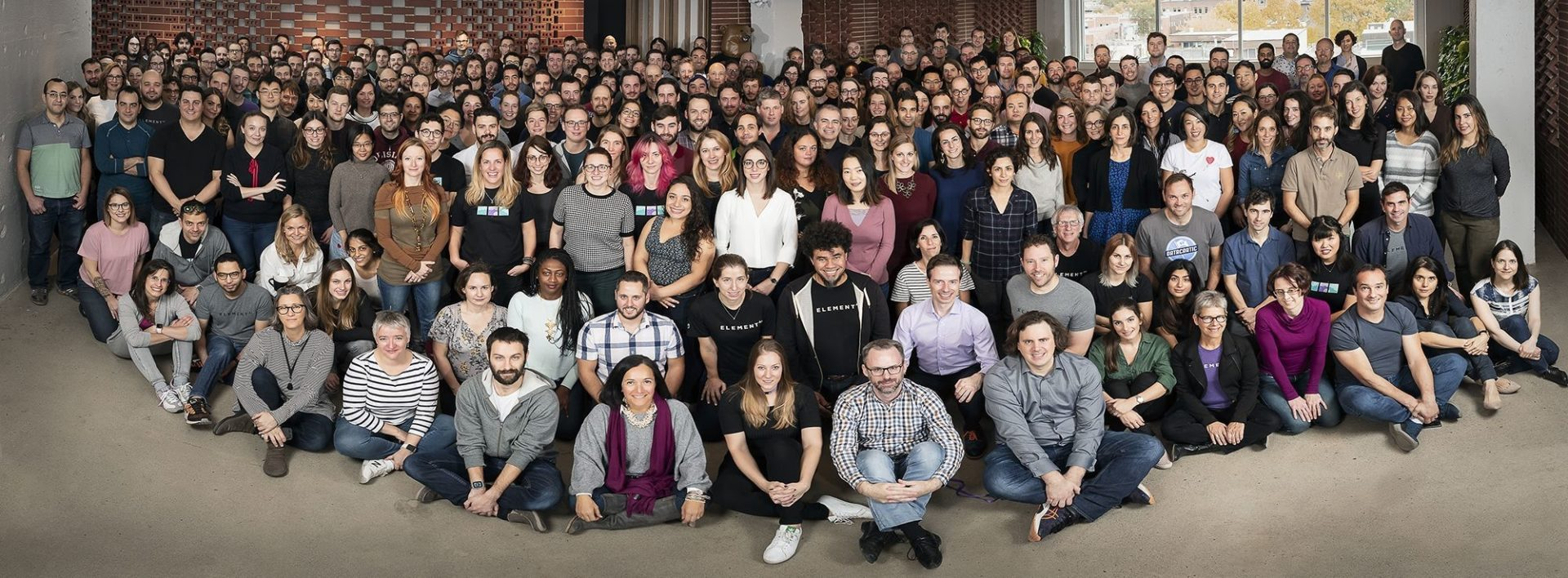 Element Ai Team Photo