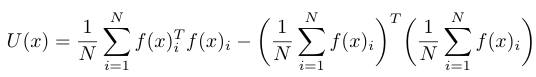 Bayesian Uncertainty Estimates formula