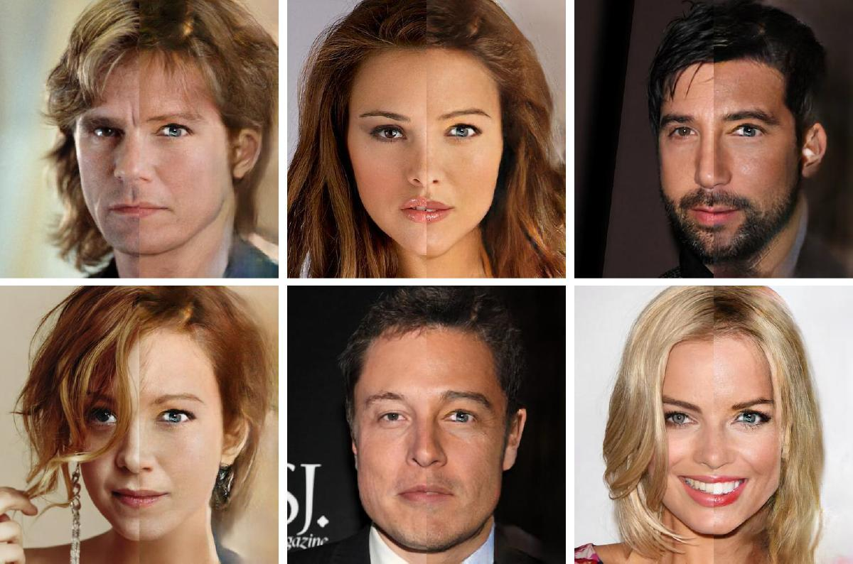 Anomaly detection in celebrity faces