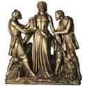 This bronze finish shown requires additional costs.