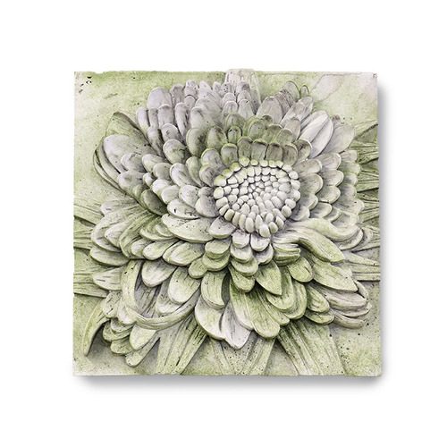 Chrysanthemum Plaque