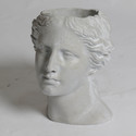 Venus Head Planter 13.5 H