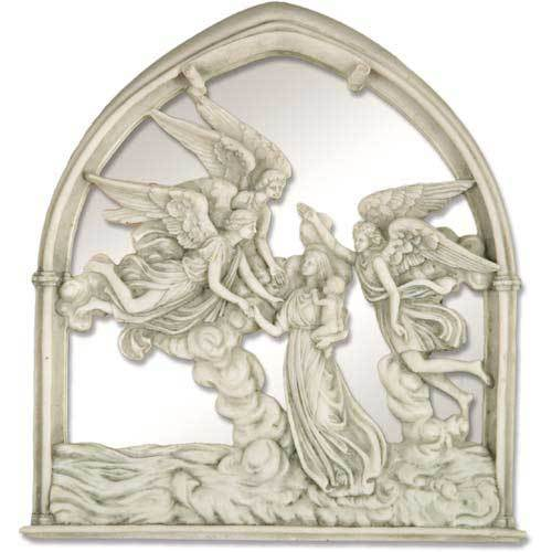 "Angels Of The Sea Mirror 10""H"