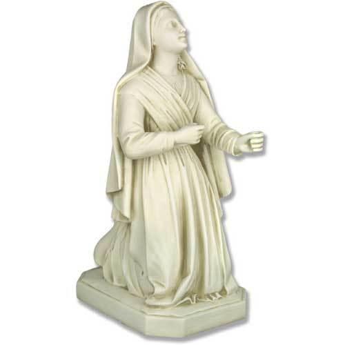 """Saint Bernadette 26""""H"""
