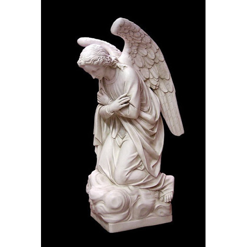Adoration Kneeling Angel (crossed) 56 H