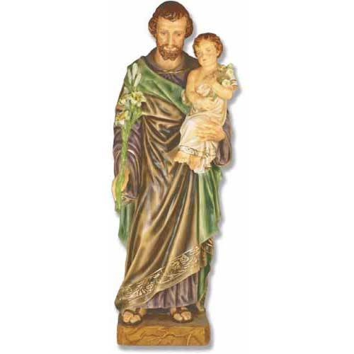 Saint Joseph & Child with Cross 38