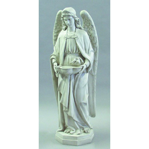 """Holy Water Font Angel 50"""" H"""