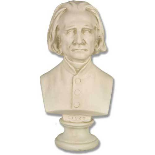 Liszt Bust Small     11 H