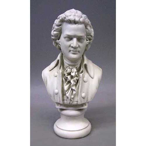 Mozart Bust Small 12H