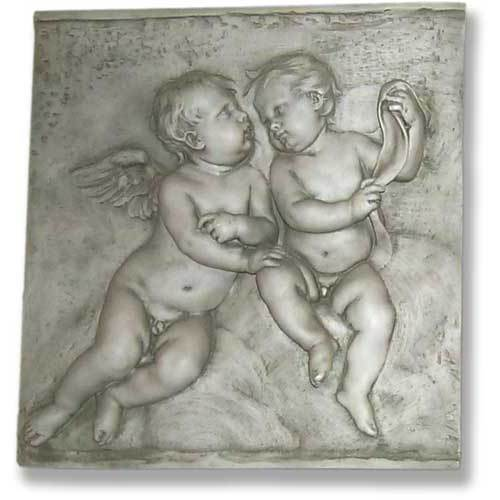 Two Singing Cherubs Frieze