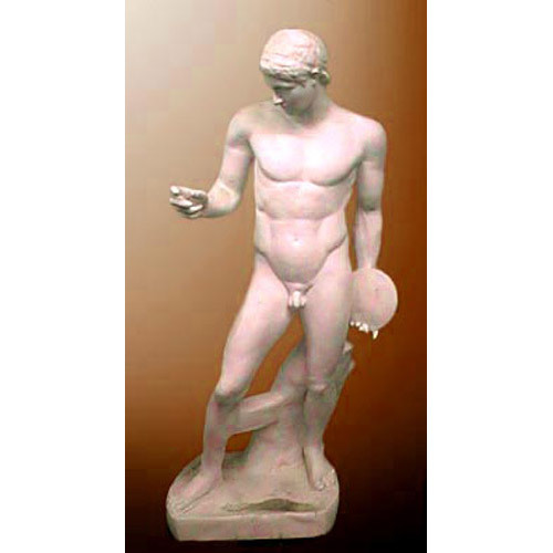 Discobolus Without/Fig (discus thrower)