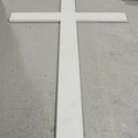 Cross made of Metal 12'H (see F9338)