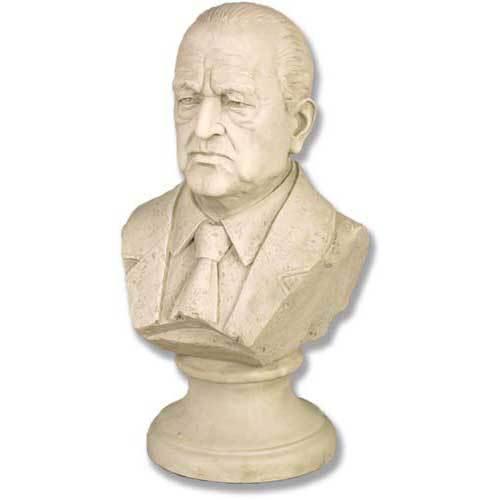 "Mies Van Der Rohe bust 12""h"