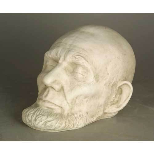 Lincoln Life Mask with Beard