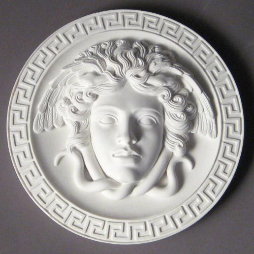 Medusa Plaque 8 Standard Elements Of Home Indoor And