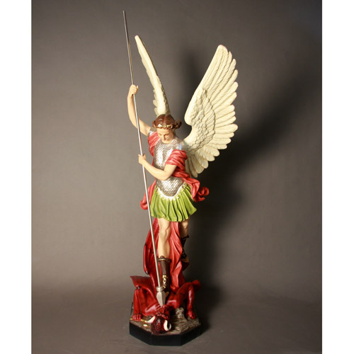 Saint Michael Slaying Satan 58