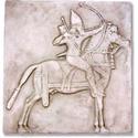 Assyrian Horseman Frieze