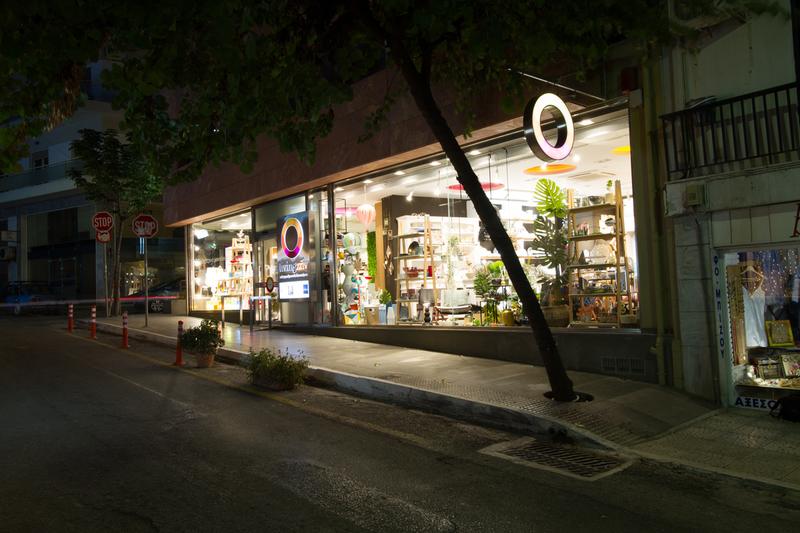 Ανακαίνιση καταστήματος Livingζην στη Χαλκίδα