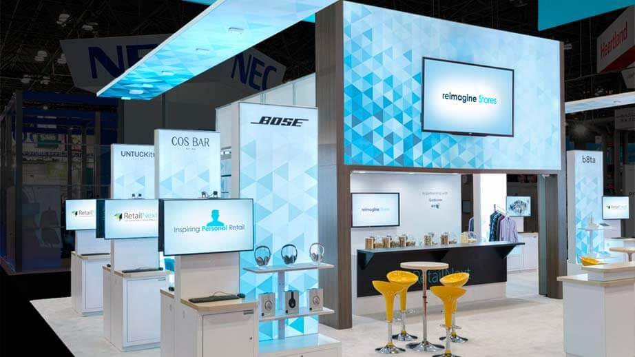 Trade Show Displays Exhibits We Design Build Deliver