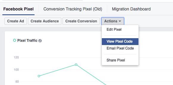 Facebook Pixel - ViralSweep Knowledge Base