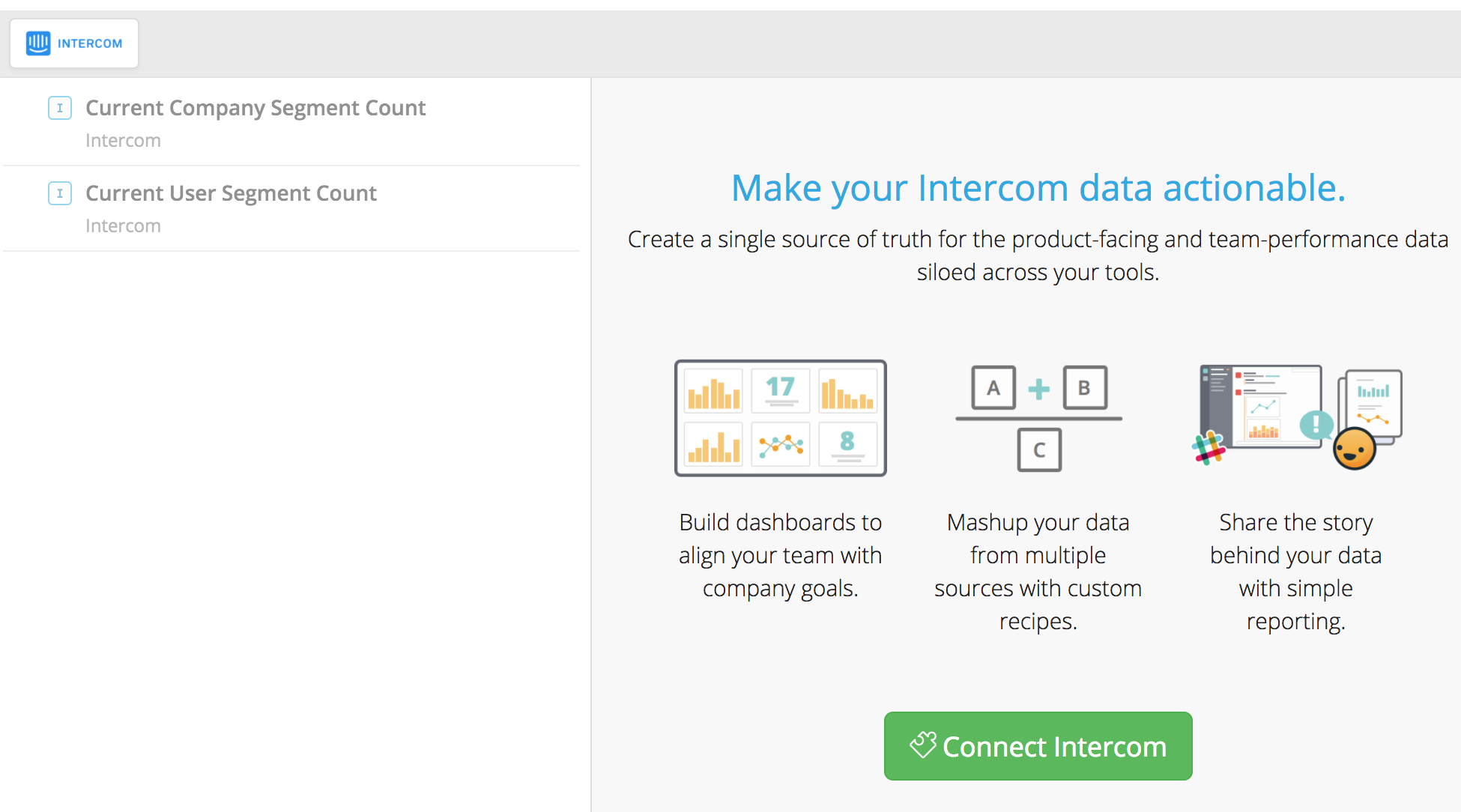 Notion for Intercom Analytics