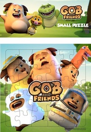 Puzzle Small Gob and Friends - 03