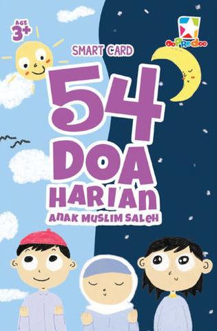 Smart Card: 54 Doa Harian Anak Muslim Saleh