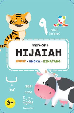 Smart Card Hijaiah: Huruf, Angka dan Binatang