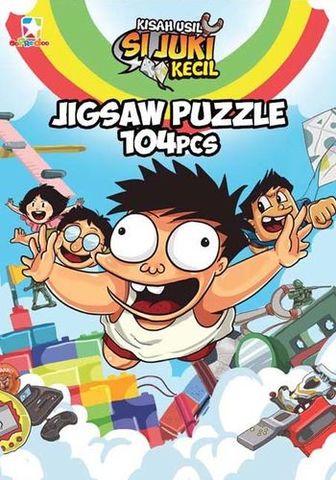 Puzzle Box Si Juki: Kisah Usil Si Juki Kecil