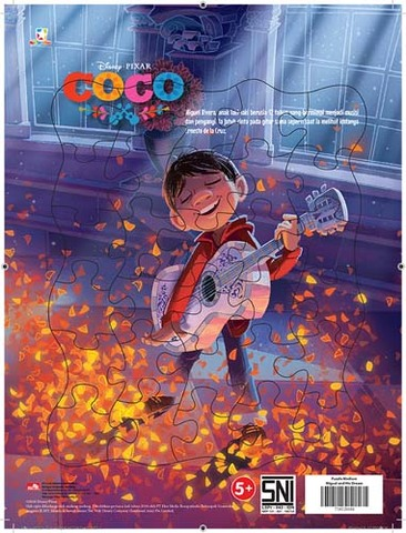Puzzle Medium Coco - Miguel and his dream