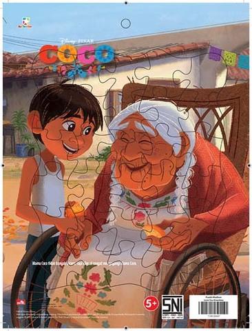 Puzzle Medium Coco - Love You Grandma